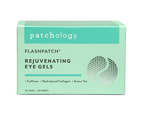 Patchology Rejuvenating Under Eye Gels - Hydrating Eye Mask w/Caffeine & Collagen - Under Eye Patches For Dark Circles - Puffy Eyes Care, minimize Puffiness & Wrinkles Reducer (30 Pairs)