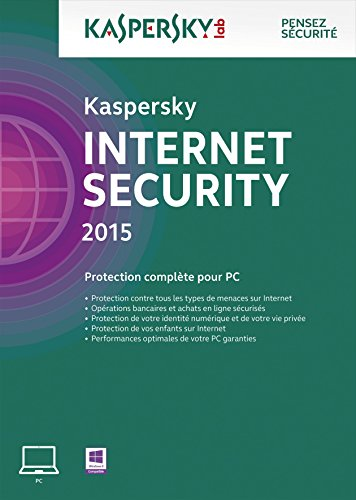 Kaspersky Internet Security 2015 - Monoposte - 2 ans [Download]