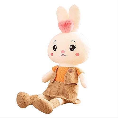 Conejo con Falda Peluche Juguetes Rellenos Conejito muñecas bebé acompañar Animales Almohada niñas niños Regalos de cumpleaños 50 cm, 70 cm (Size : 50cm)