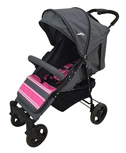 Asalvo Mit - Silla de paseo plegable y multifuncional, color rosa