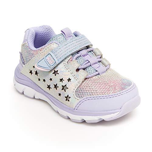 Stride Rite Girls Made2Play Moriah Sneaker, Lavendar, 13.5 Little Kid