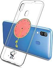 Oihxse Funda Samsung Galaxy S10, Ultra Delgado Transparente TPU Silicona Case Suave Claro Elegante Creativa Patrón Bumper Carcasa Anti-Arañazos Anti-Choque Protección Caso Cover (A3)