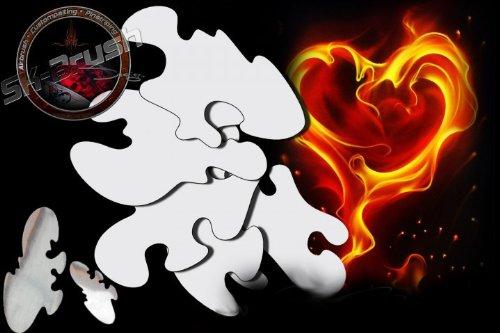 Airbrush True Fire Flammen Feuer Flames Profi Schablonen Mega Set
