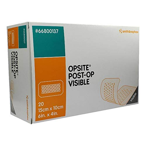 Opsite Post Op Visible 10x15 cm Verband, 20 St
