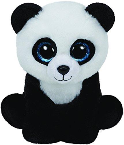 TY 42110 - Ming - Pandabär mit Glitzeraugen, Plüschtier, 15 cm