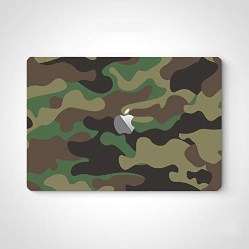 Laptop Sticker Skin Camouflage Protective Military Cool Style Laptop Sticker Skin Decal Cover for MacBook Air 13' Pro 13'/15'/16' 2008-2020 Version Laptop Keyboard Decal Sticker
