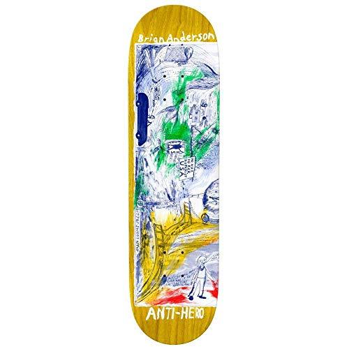 Anti Hero B.A. Sf Then And Now - Tavola da skateboard multipla da 21,6 cm