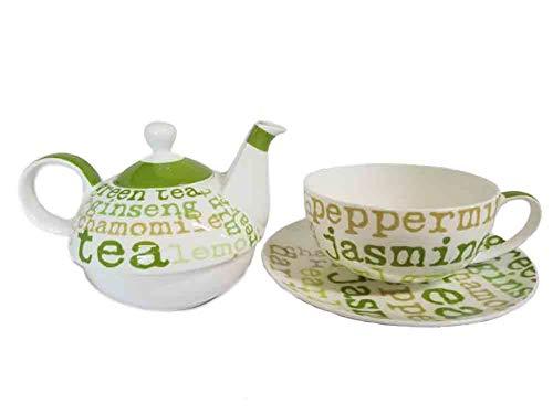 PPD Tasse mit Kanne Tea Graphic