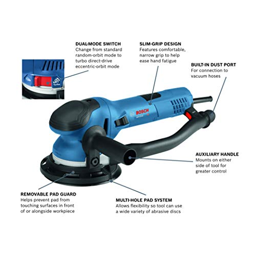 Bosch Power Tools - GET75-6N - Electric Orbital Sander, Polisher - 7.5 Amp, Corded, 6