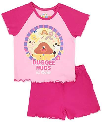 Ragazze Hey Duggee Pigiama corto Scoiattolo Club Ragazze Character Nightwear Hey Duggee Shortie 3-4 Anni
