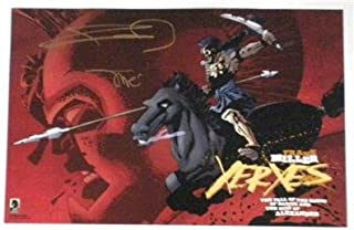 SDCC 2018 Limited Edition SIGNED Litho Poster XERXES by FRANK MILLER & ALEX SINCLAIR