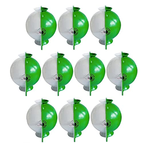 Sanfiyya Planta Raíz Dispositivo 10PCS Raíz Cría de Bola de Alta presión Creciente Spreading Caja de enchufes L Jardín Blanco Verde