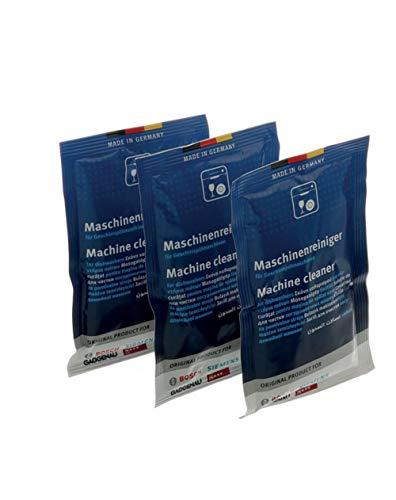 3 x Fettlöser im Beutel für Spülmaschine 45 g Bosch Siemens Neff Gaggenau NEW 00312913