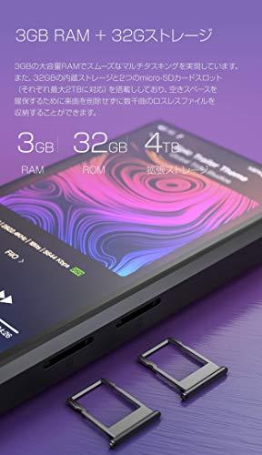 FiiOフィーオM11ブラック(Black)デジタルオーディオプレーヤーFIO-M11-B