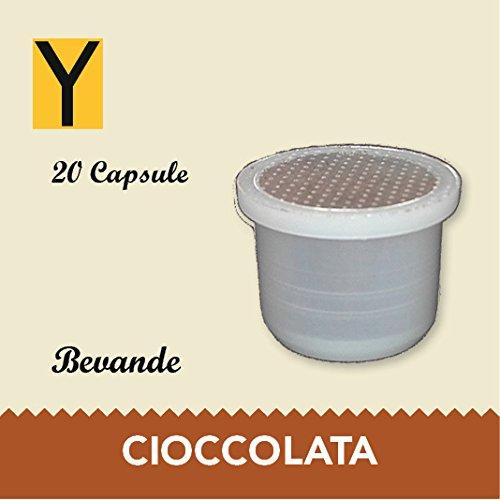 20 capsule compatibili Uno System CIOCCOLATA