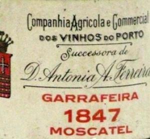 1847 Ferreira Garrafeira Moscatel Port
