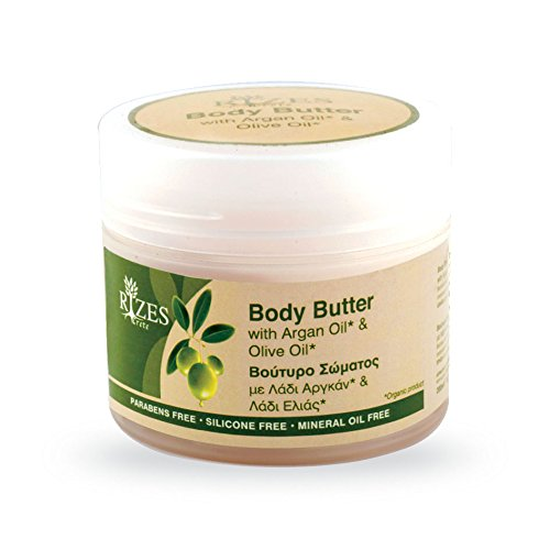 Original Rizes Body Butter | Feuchtigkeitsspendende Körperlotion Olivenöl & Arganöl | Vegane Naturkosmetik