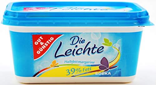 Gut und Günstig Die leichte Halbfettmargarine, 16er Pack (16 x 500g)