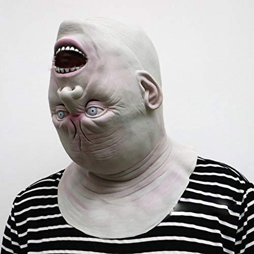 BWNWPH Máscara de Halloween for Adultos Máscara de Zombie Látex Sangriento Miedo...