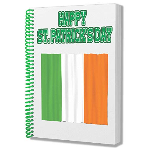 St Patricks Daggeschenk - A5 Kladblok Notebook - Iers Ierland Vlag Ontwerp
