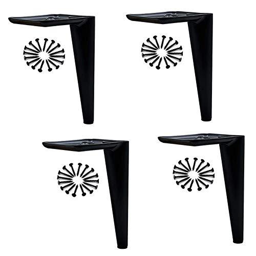 Wyxy Patas de Muebles, pies de Muebles de Acero Inoxidable, Patas de sofá pulidas para Bricolaje, Columna de Soporte de Mueble de baño de 15 cm, Mesa de Centro reemplazable, Mueble de TV, Patas d