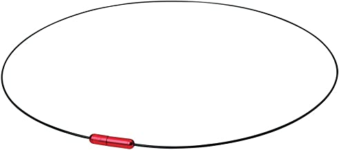 سلسلة فيتن تيتانيوم مع سلسلة بالهواء - أسود/أحمر، 20 سم