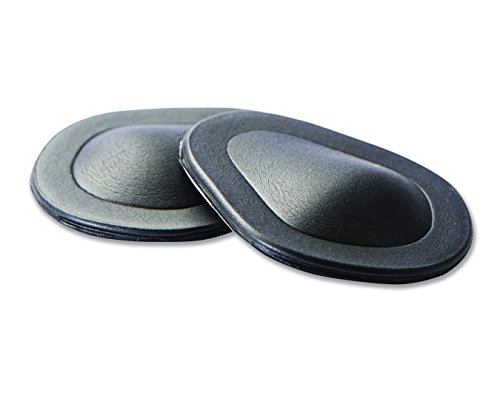 Pro-Tec Athletics Metatarsal Lift Compression Pads, Black, Medium