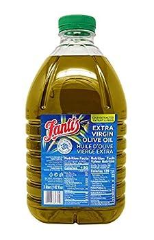 Fantis Extra Virgin Olive Oil 100% Pure First Cold Pressed EVOO Bulk  102 Fl Oz