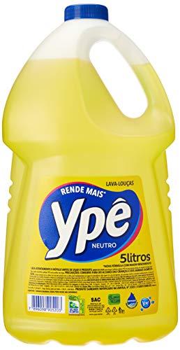 Detergente Neutro 5l, Ypê, Amarelo