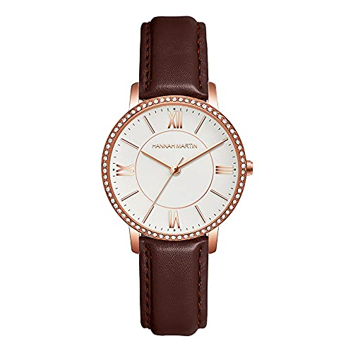 YIBOKANG Reloj De Cuarzo Impermeable con Cinturón De Malla De Acero con Diamantes De Imitación De Negocios A La Moda para Mujer