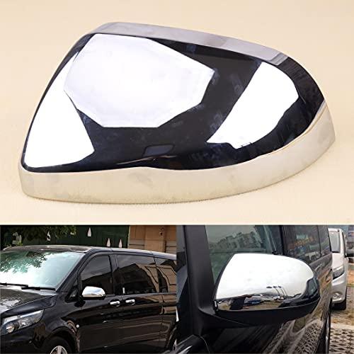 JiasHome DINGSONGYANG Izquierda ABS Chrome Retroview Espejo de Espejo Ajuste para Mercedes-Benz Vito W447 2014-2018