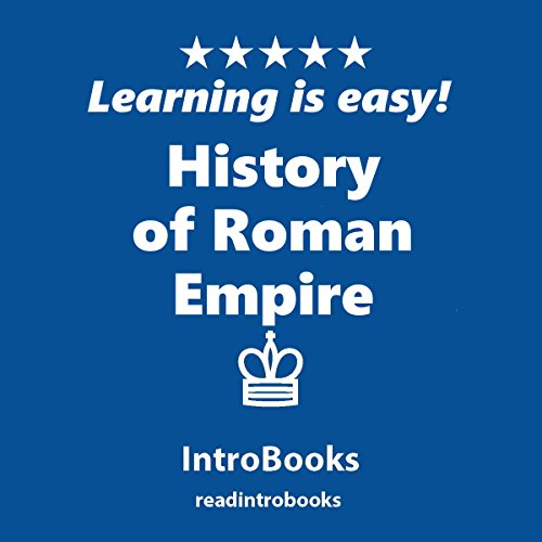 History of Roman Empire audiobook cover art