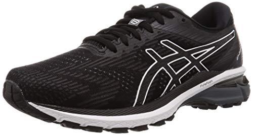 ASICS Herren GT-2000 8 Road Running Shoe, Schwarz/Weiß, 47 EU