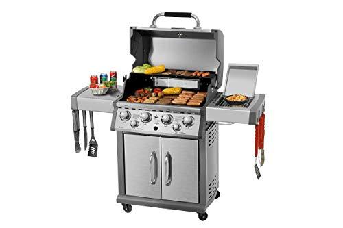 "Gasgrill \""Concord\"" von El Fuego® Grill BBQ Grillwagen Gasgrillwagen Barbecue"