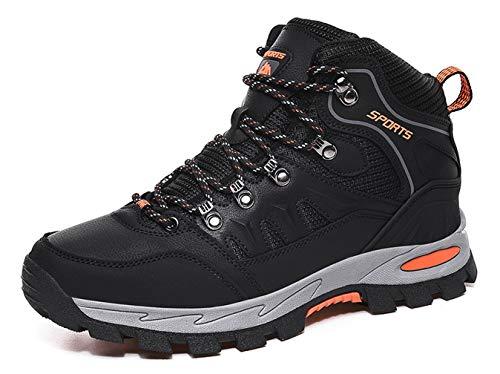 Zapatillas de Trekking para Hombre Mujer Impermeables Botas de Senderismo Al Aire Botas de Montaña Antideslizante Zapatos de Deporte Adulto
