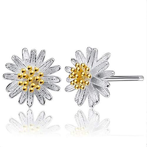 Stud Earrings, Girl's 2 Pair Daisy Flower Earrings Ear Stud Jewelry For Women