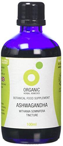Organic Herbal Remedies Ashwagandha Tincture, 100 ml