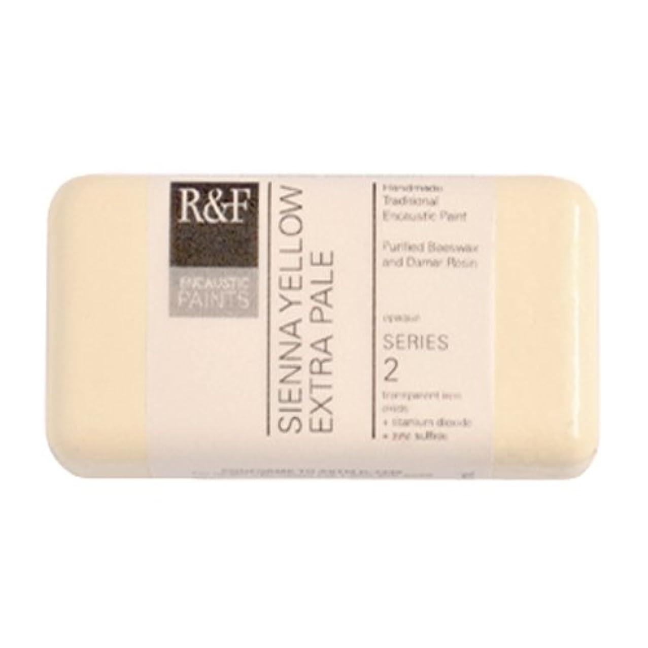 R&F Encaustic Paints, 40ml, Sienna Yellow Extra Pale