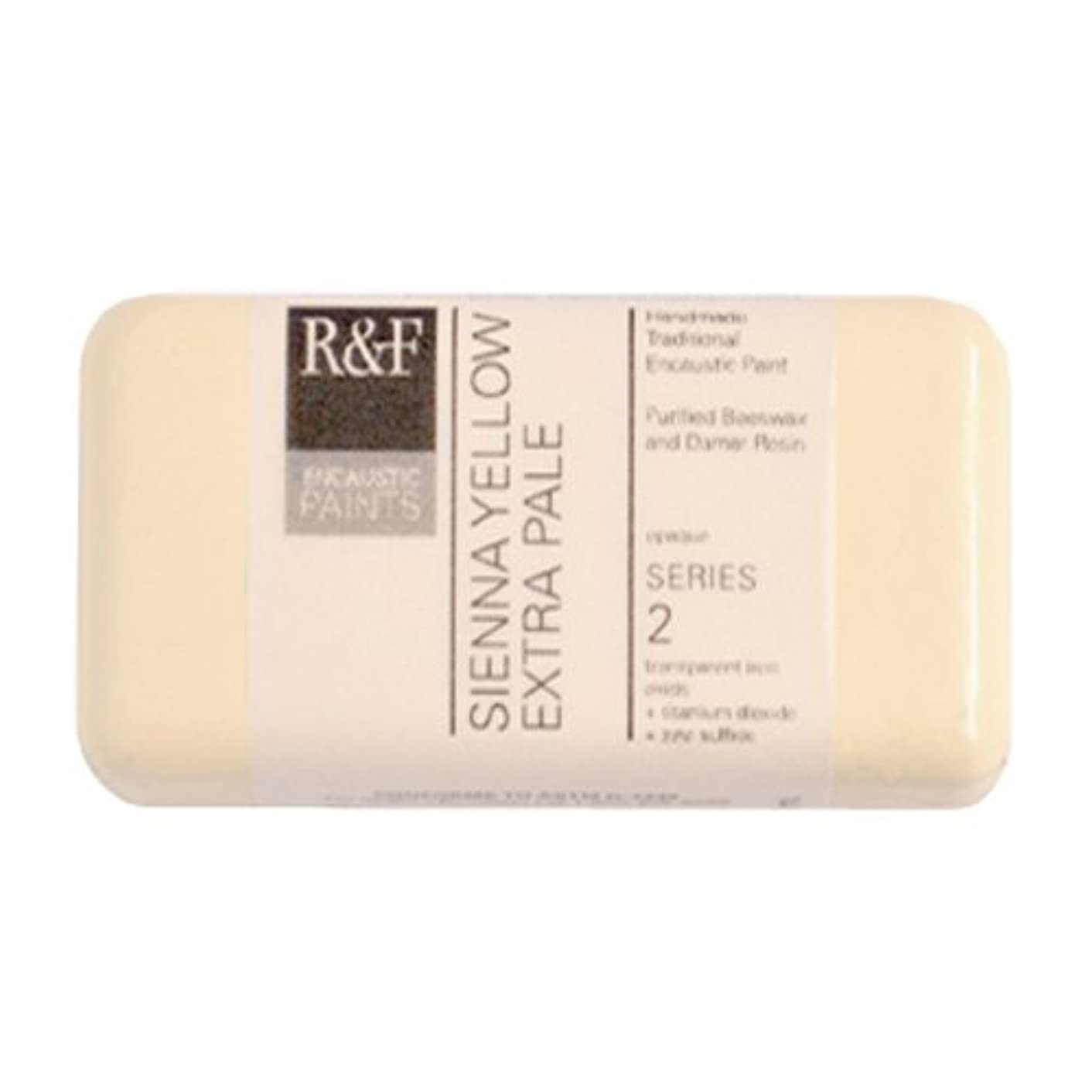 R&F Encaustic Paints, 40ml, Sienna Yellow Extra Pale