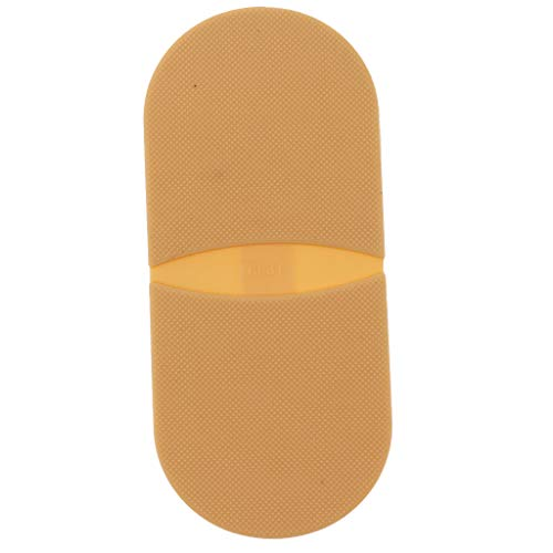 F Fityle Par de Pegamento de Goma en Los Talones Reparación de La Suela del Zapato Puntas Antideslizantes Reemplazo de La Almohadilla - Color de Piel