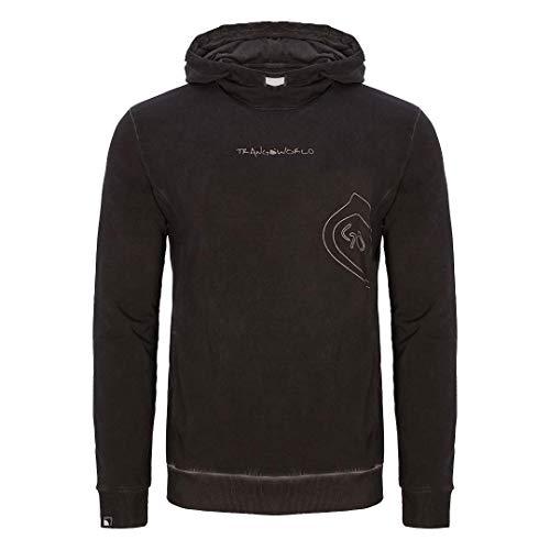 Trangoworld Jumpy Sweatshirt Homme, Noir, XXL