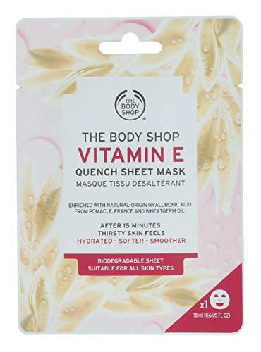 The Body Shop Máscara de hoja de 18 ml - Vitamina E adecuada para todo tipo de piel