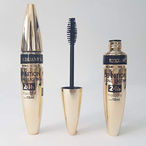 24h Mascara, adatto per extension di ciglia - senza olio, 10 ml di mascara solubile in acqua