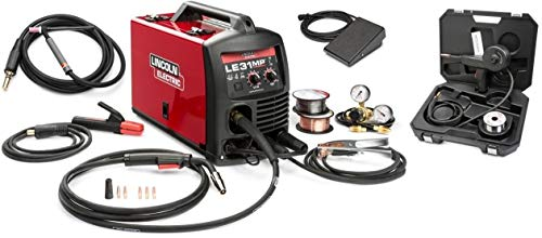 Lincoln K3461-1Stp Le31Mp Multiprocess Wirefeeder Welder with Tiggun, pedal and spoolgun