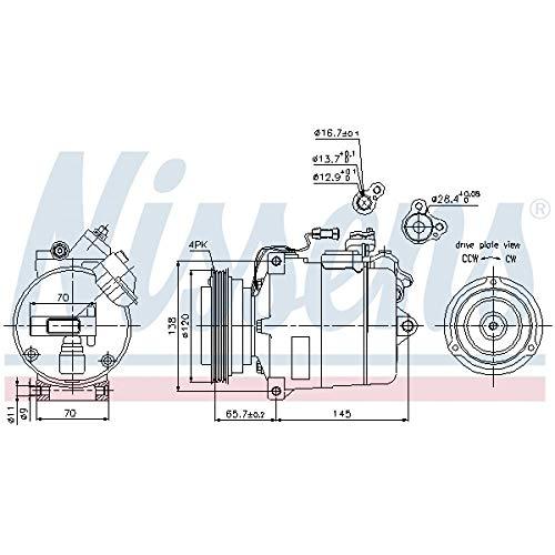 Nissens 89027 Clima compressori