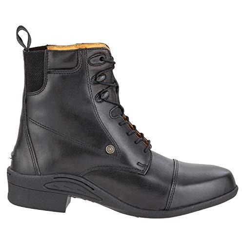 SUEDWIND FOOTWEAR SUEDWIND FOOTWEAR Stiefelette »Ultima PRO LACE«. Bequeme Boots aus Echtleder zum Schnüren   Robuster Reitschuh mit Ortholite-Sohle, Innenleder, toller Passform  Stiefel Größen 35-46   Farbe: Schwarz
