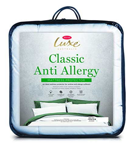 Tontine T6277 Classic Anti-Allergy Luxe Mattress Protector, Double Bed