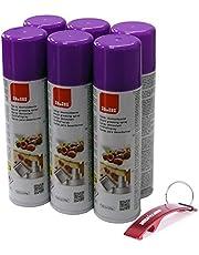 Spray para moldes de Repostería 6 x 250ml + Llavero Regalo