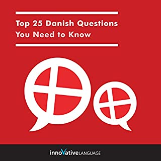 Top 25 Danish Questions You Need to Know audiobook cover art