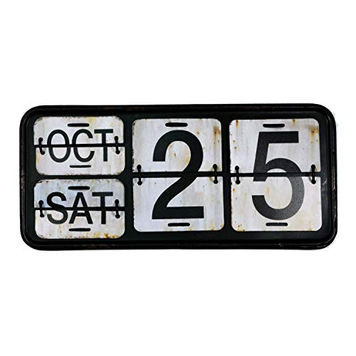 【USA アメリカン デザイン】カレンダー USA 日めくり カフェ ガレージ インダストリアル ビンテージ バイカー インテリア 看板 WH ;AVCA-013